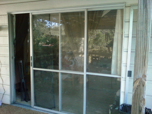Old Sliding Glass Doors 500 x 375